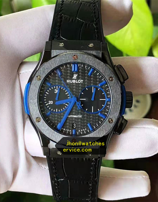Hublot Classic Fusion 45MM Denim Blue