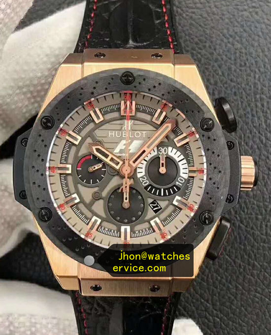 King-Gold Hublot Ferrari F1 48MM King-Power