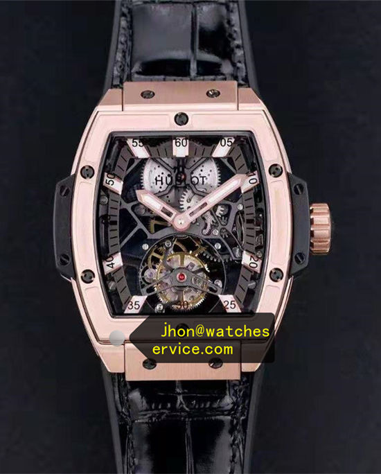 King Gold Hublot Spirit of Big Bang Tourbillon