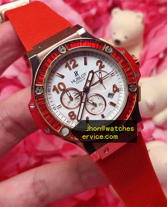 Red Bezel Hublot Big Bang Tutti Frutti