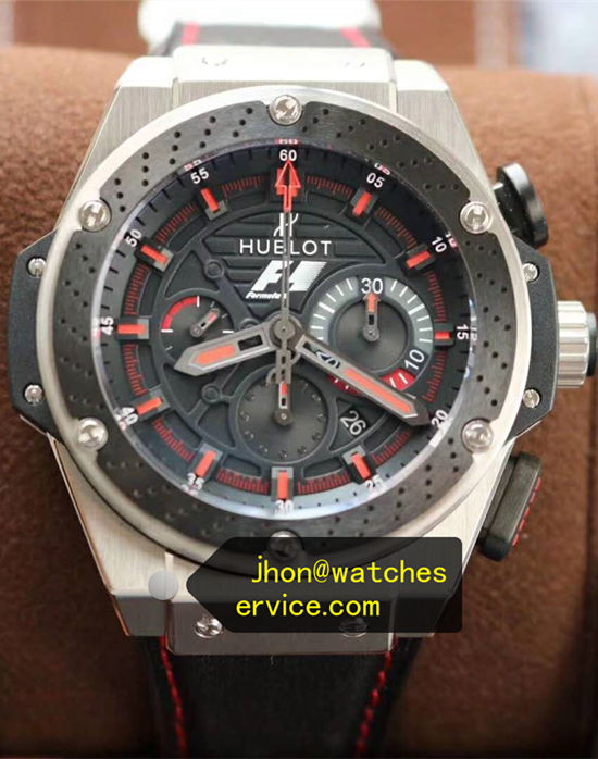 Red Hublot Ferrari F1 48MM King-Power Zirconium