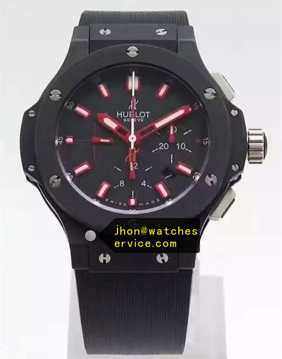 Red White Pointer Hublot Big-Bang 44MM