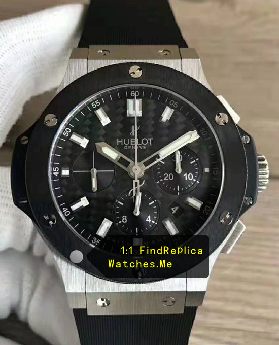 Hublot Big Bang 44MM 301.SM.1770.RX Black Steel Watch