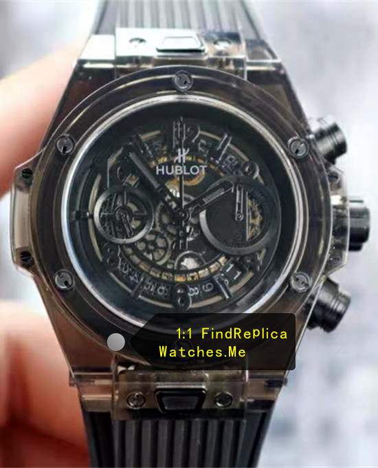 Hublot Big Bang Unico 45MM Black Transparent Watch
