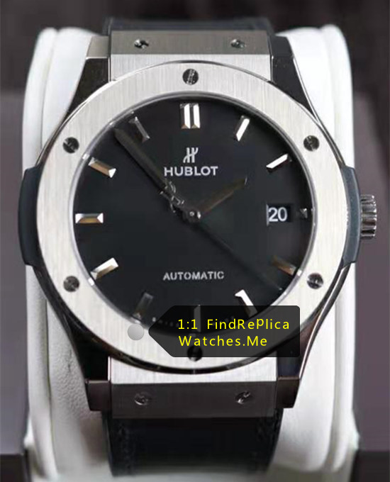 Hublot Classic Fusion Titanium 45MM Black Face Watch