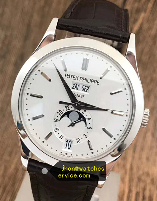 18k-White-Gold Patek Philippe Complication 5396G-011 replica watch
