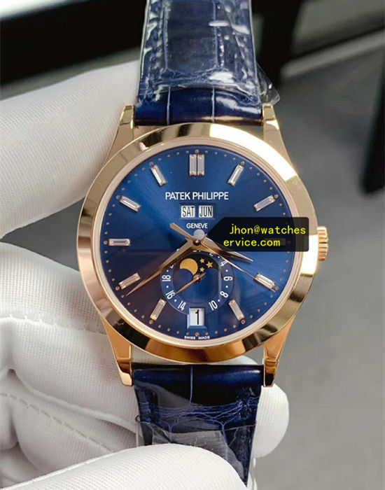 38.5MM Blue Patek Philippe Complication 5396R-015 replica watch