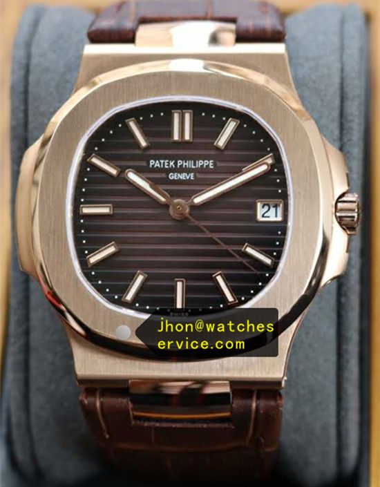 Dark Brown Dial Strap Gold Sports Nautilus 5711/1R 40MM