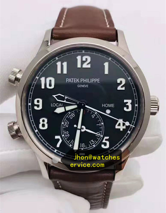 Black Face Patek Philippe 5524G-001 42MM Polished Steel
