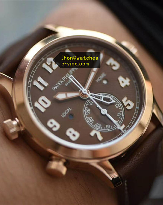 Coffee Beans Patek Philippe 5524G-001 42MM 18k-Gold