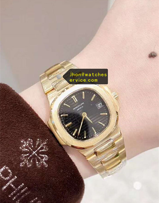 Lady 32MM Patek Philippe Sporty Elegance 18k-Gold replica watch