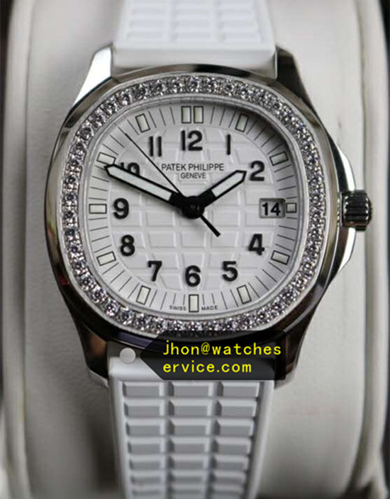 Lady Patek Philippe Aquanaut 5067A-024 35.6MM White