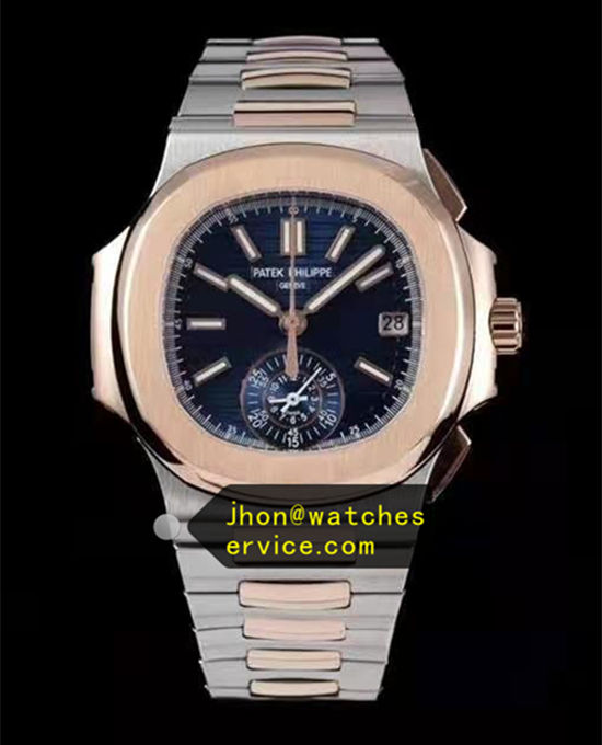Nautilus 5980/1AR-001 Patek Philippe Chronograph Steel and Gold