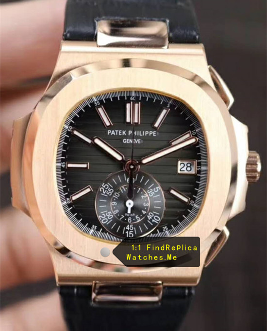Patek Philippe Nautilus 5980/1R-001 Black Face 18k-Gold Body