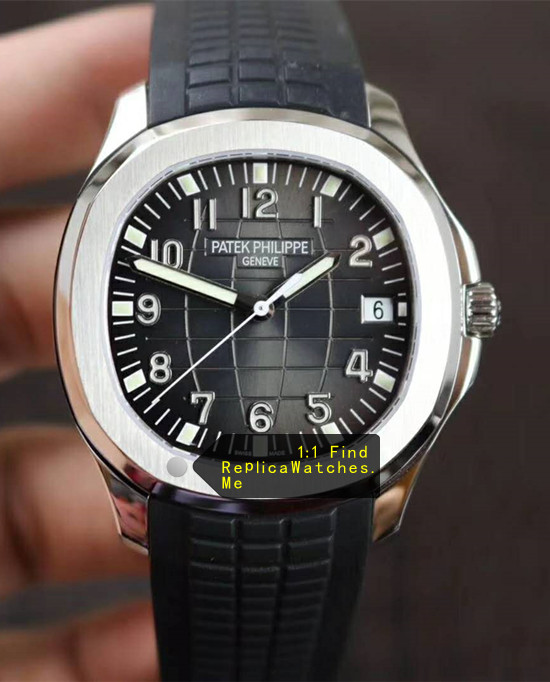 Patek Philippe Aquanaut 5167A-001 Black Embossed Dial