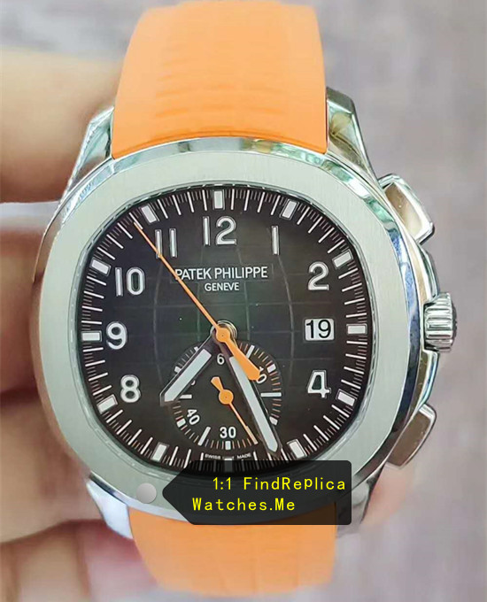 Top Patek Philippe Aquanaut 5968A Orange Watch RXW Factory