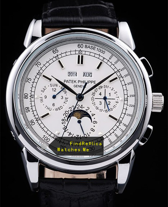Patek Philippe Super Complex Timer White Gold 08459