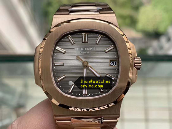 Upgraded Version Grey Gold Patek Philippe Nautilus 5711/1R replica watch