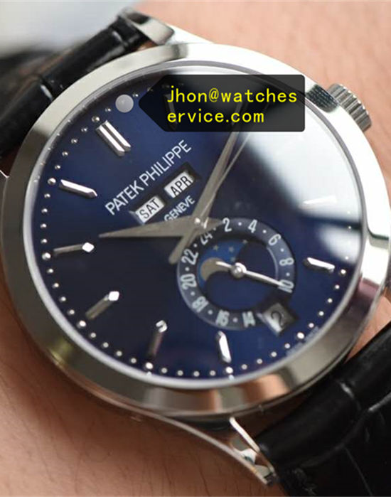 White-Gold Moon Phases Blue Patek Philippe Complication 5396R-011