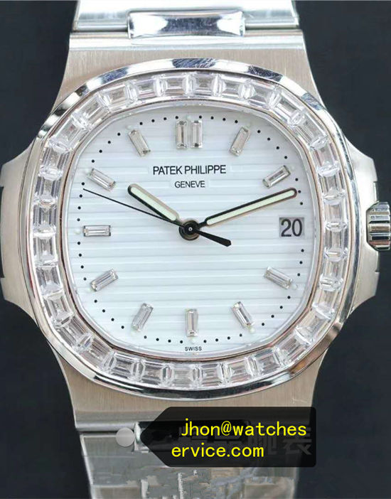 White Mosang Diamonds Patek Philippe Nautilus 5711/1A 40MM