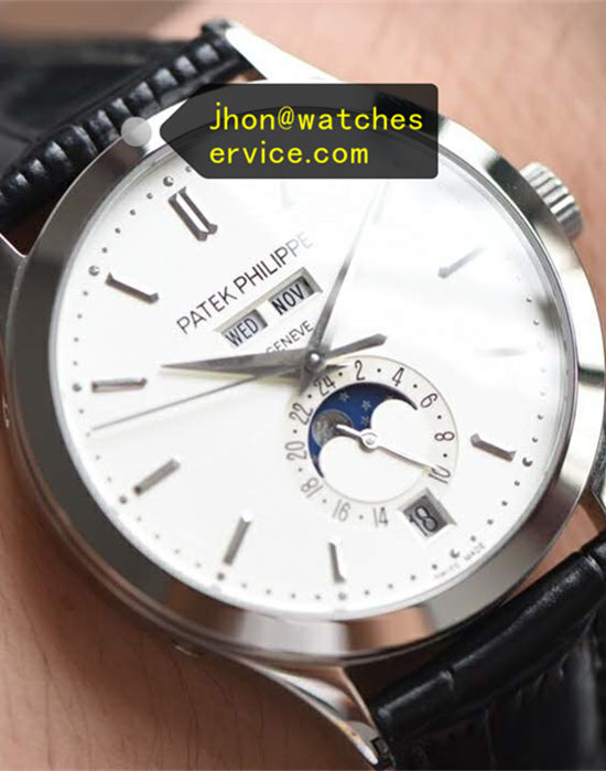 Moon Phases White Patek Philippe Complication 5396G-011