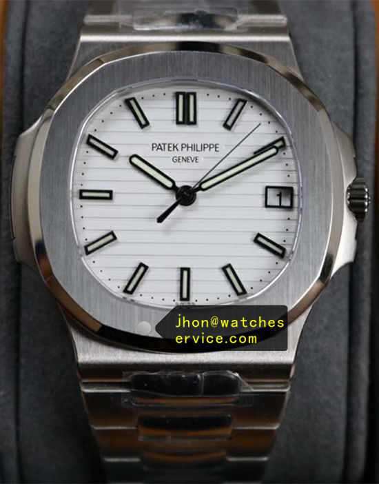White Patek Philippe Steel Sports Nautilus 5711/1A-011 40MM