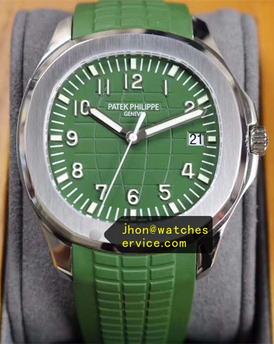 Grass Green Patek Philippe Aquanaut 5167R