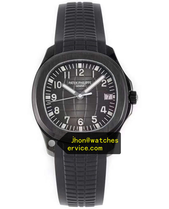 Patek Philippe Black PVD Steel Aquanaut 5167A