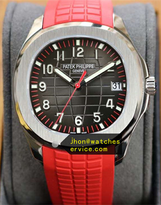Red Patek Philippe Aquanaut 5167R