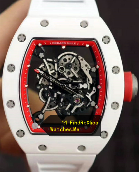 Richard Mille RM 055 Red Inner Frame From Super KV Factory