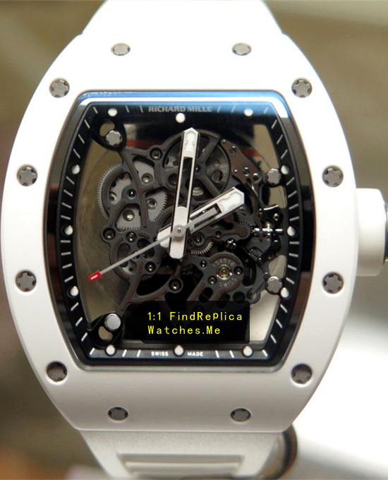 Richard Mille RM 055 All White Titanium Ceramics
