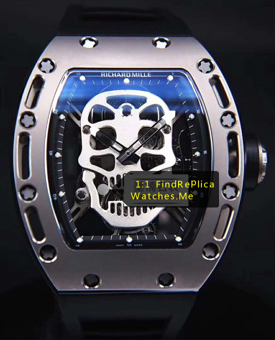 2019 Top Richard Mille RM 052 Skull True Tourbillon Watch