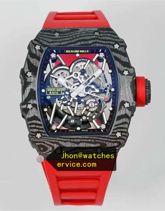 2020 Tiger Carbon Fiber Richard Mille RM 35-02