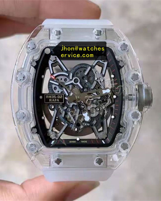 2021 Transparent Richard Mille RM 35-02