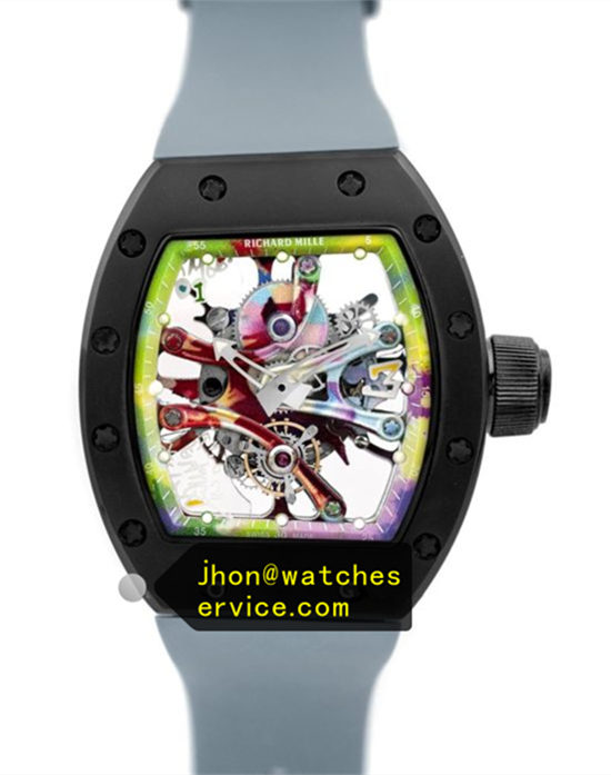 Dark Grey RM 68-01 Ceramic Bezel Graffiti