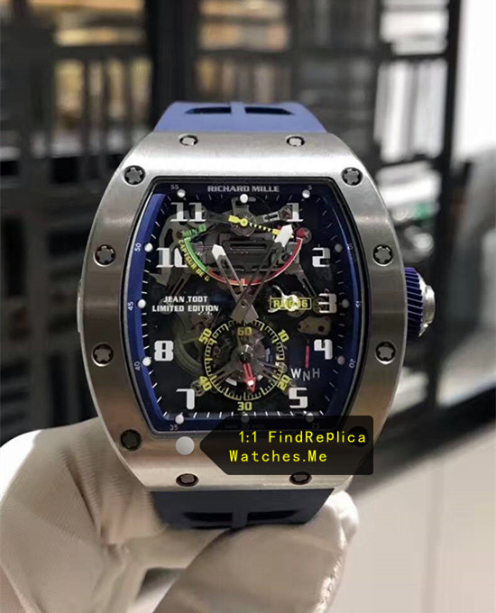 Richard Mille RM 036 Dark Blue Inner Frame Tourbillon G-Sensor Watch