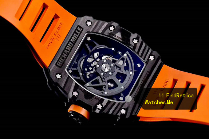 Fake Richard Mille RM 35-02 Carbon Fiber back