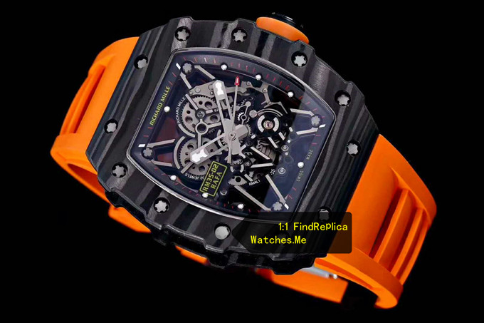 Fake Richard Mille RM 35-02 Carbon Fiber watch