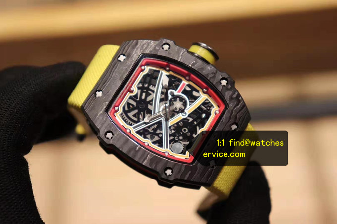 Replica Richard Mille RM 67-02 Alexander Zvilev Sports Fiber Watch