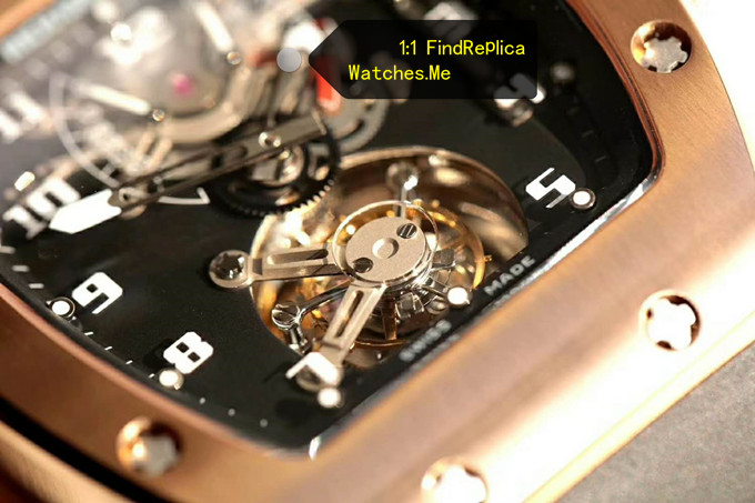 Fake Richard Mille RM 001 Tourbillon Face