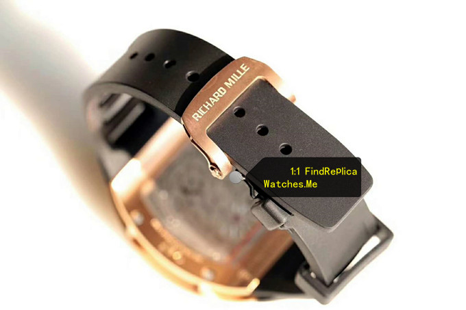 Fake Richard Mille RM 001 black strap