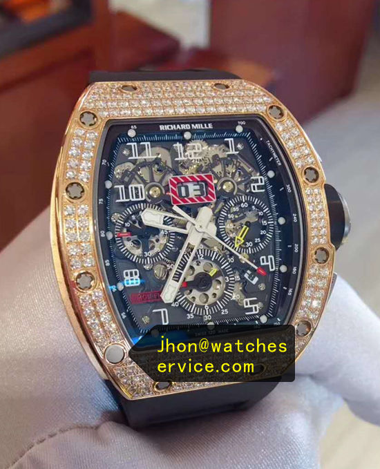 Richard Mille RM 011-FM Diamonds Bezel