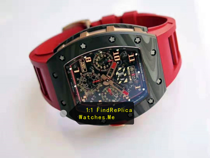 Fake Richard Mille RM 011 LOTUS F1 TEAM Chronograph watch