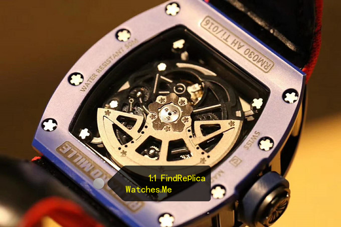 Replica Richard Mille RM 030 Blue French Paris Limited Edition Black