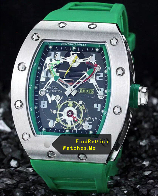 Richard Mille RM 036 Green Version 2A08
