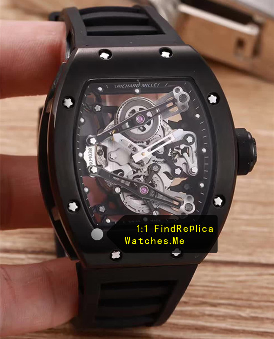 Richard Mille RM 038 All Black Watch JJ-Factory