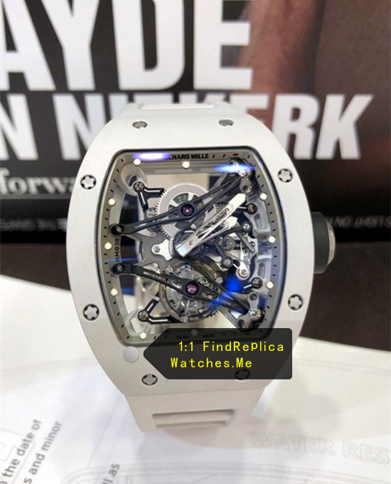 Richard Mille RM 038 All White Bubba Watson H-maker