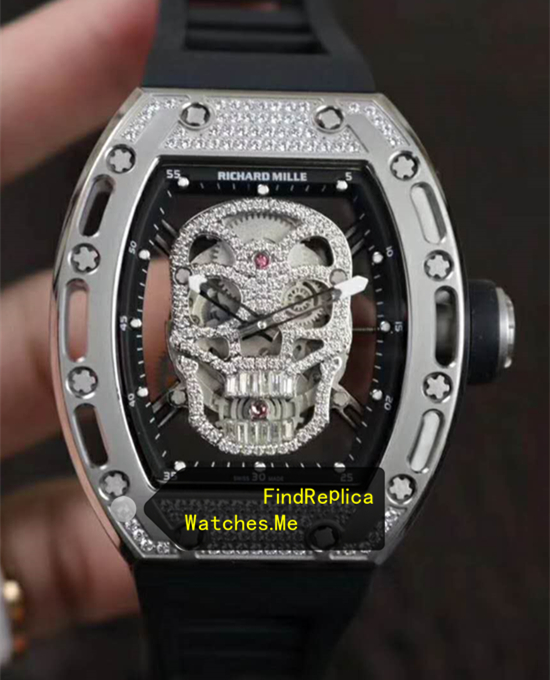 Richard Mille RM 052 Diamonds Silver From VR Watches
