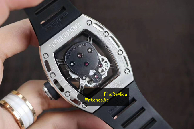 Replica Richard Mille RM 052 Diamonds back