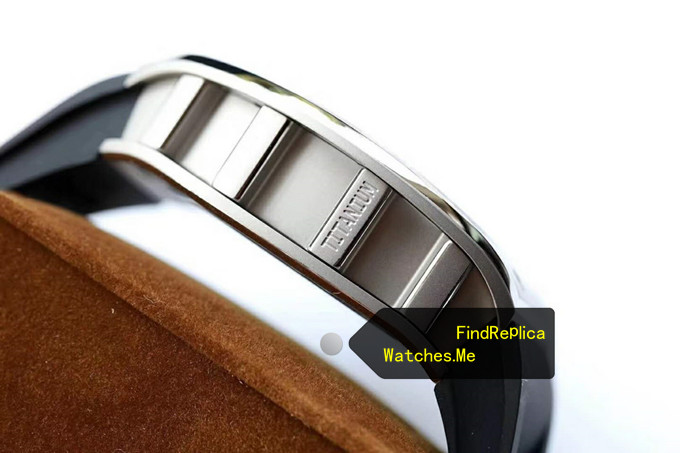 Replica Richard Mille RM 052 Titanium side